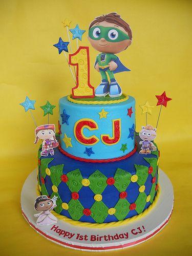 Astounding 9 Dame Cakes Super Why Birthday Photo Super Why Birthday Cake Personalised Birthday Cards Paralily Jamesorg