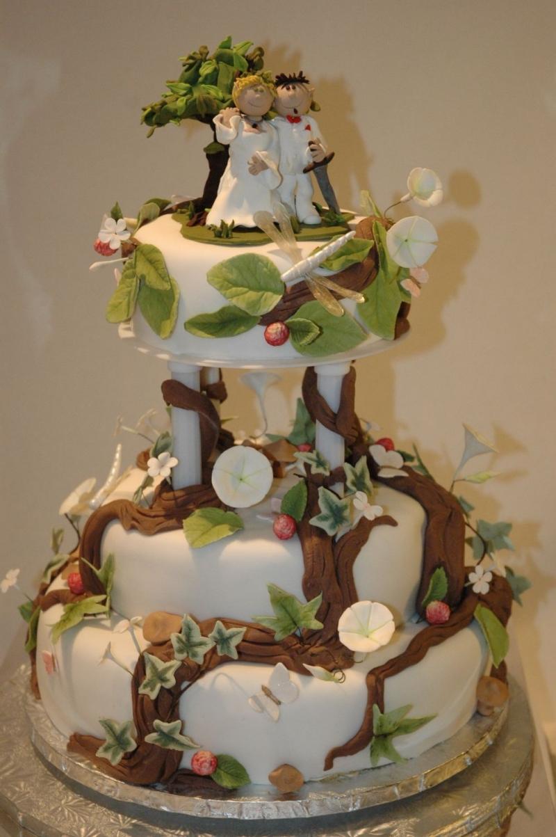 11 Unique Idea Designs Weddings Cakes Photo Unique Wedding Cake