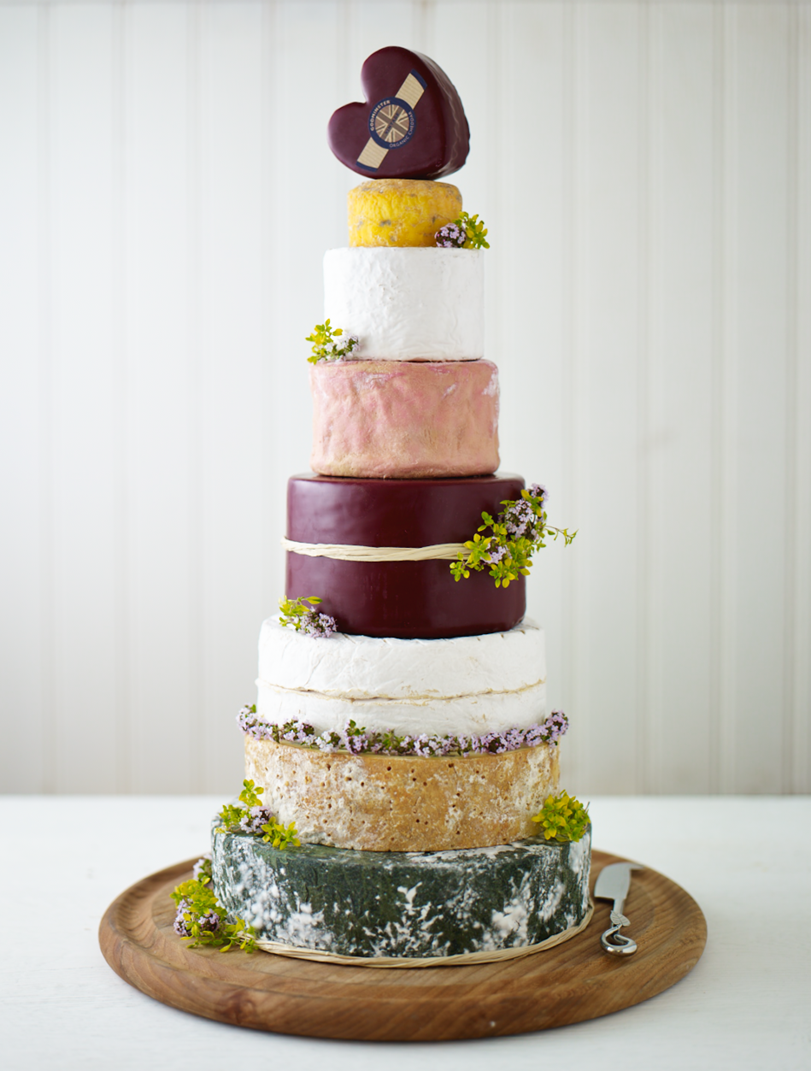 7 Cheese Wedding Cakes Instead Of Cake Photo Wedding Cheese Cake