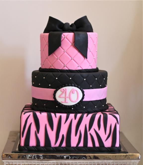 11 40 Birthday Cakes For Ladies Photo