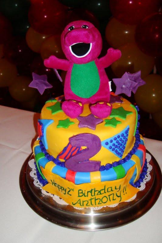 13 Barney Cakes For Boys Photo