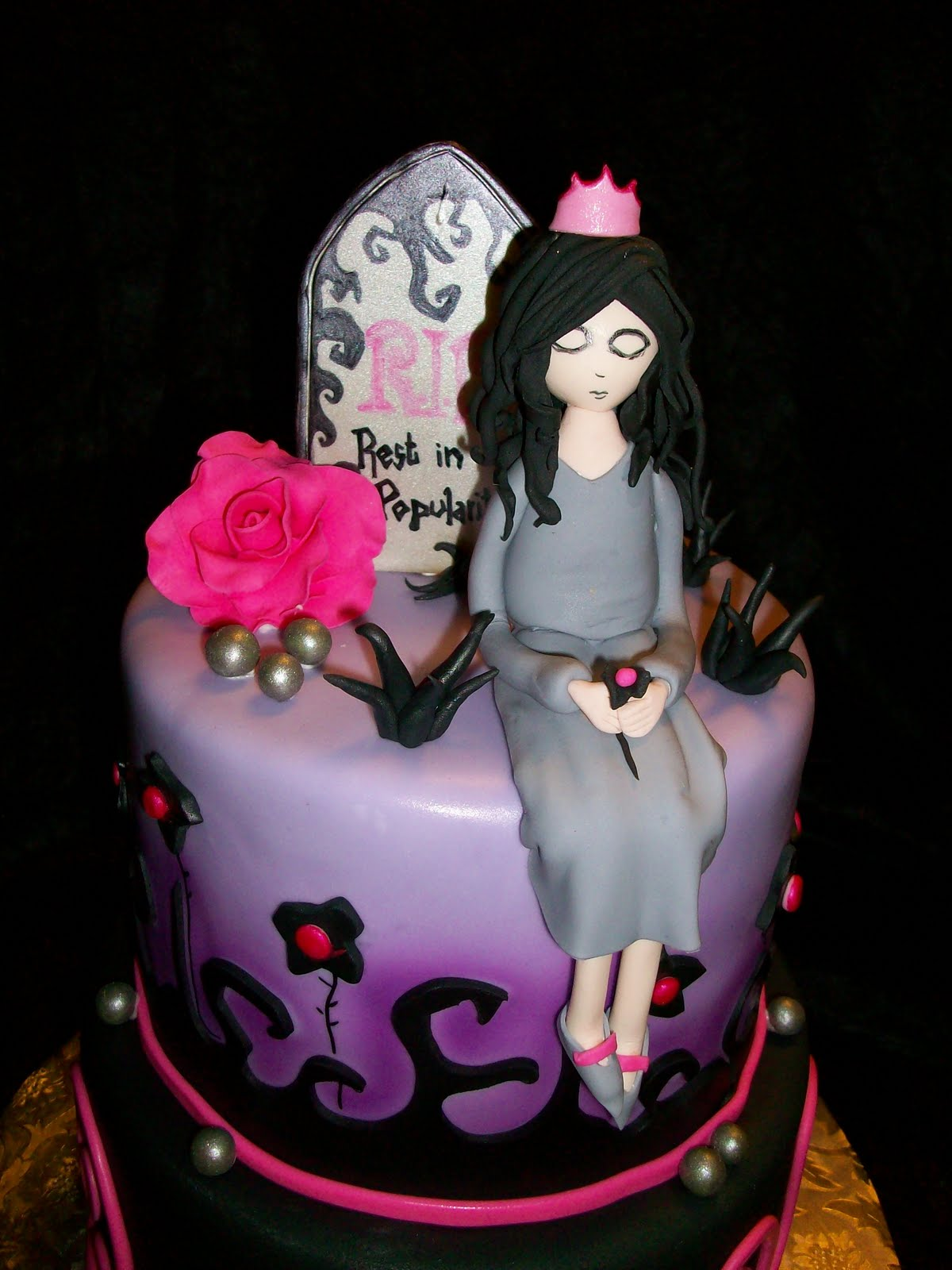 13 Creepy Birthday Cakes Photo Scary Halloween Skull Cakes Creepy