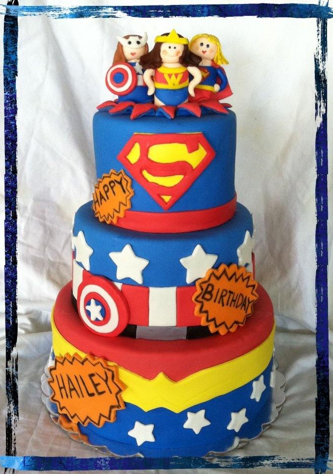 DC Super Hero Girls Birthday Cake Ideas