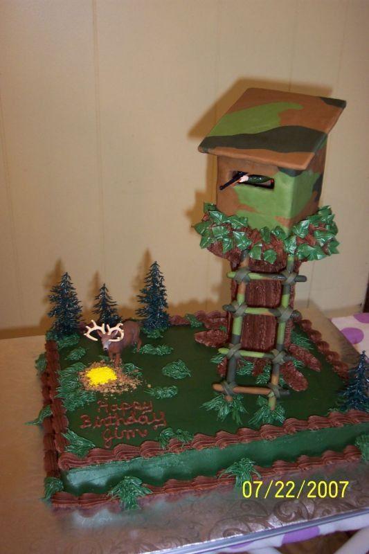 Phenomenal 13 Deer Birthday Cakes Awesome Photo Dead Deer Hunting Cake Funny Birthday Cards Online Elaedamsfinfo