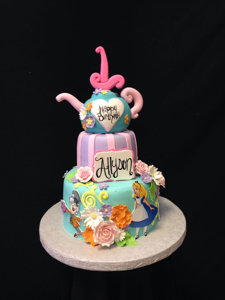 9 Birthday Cakes At Disneyland Park Photo Birthday Cakes at Disney