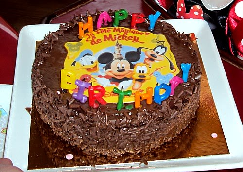 Disneyland Paris Birthday Cake
