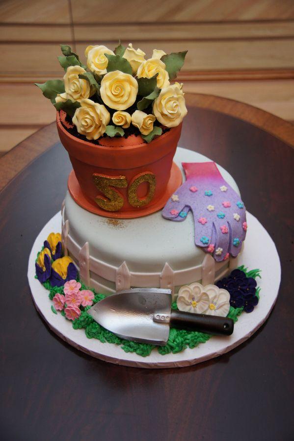 Flower Garden Themed Cakes - Flowers Healthy