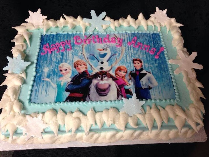 Birthday Cake Ideas Frozen ~ 11 frozen full sheet cakes photo frozen sheet cake ideas frozen