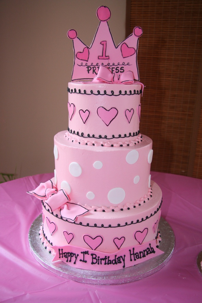 Girls Princess Birthday Cake Ideas