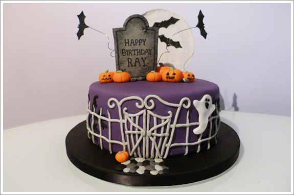 6 Halloween 8 Inch Cakes Photo Halloween Birthday Cake Halloween