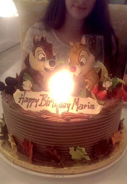 Happy Birthday Maria Cake