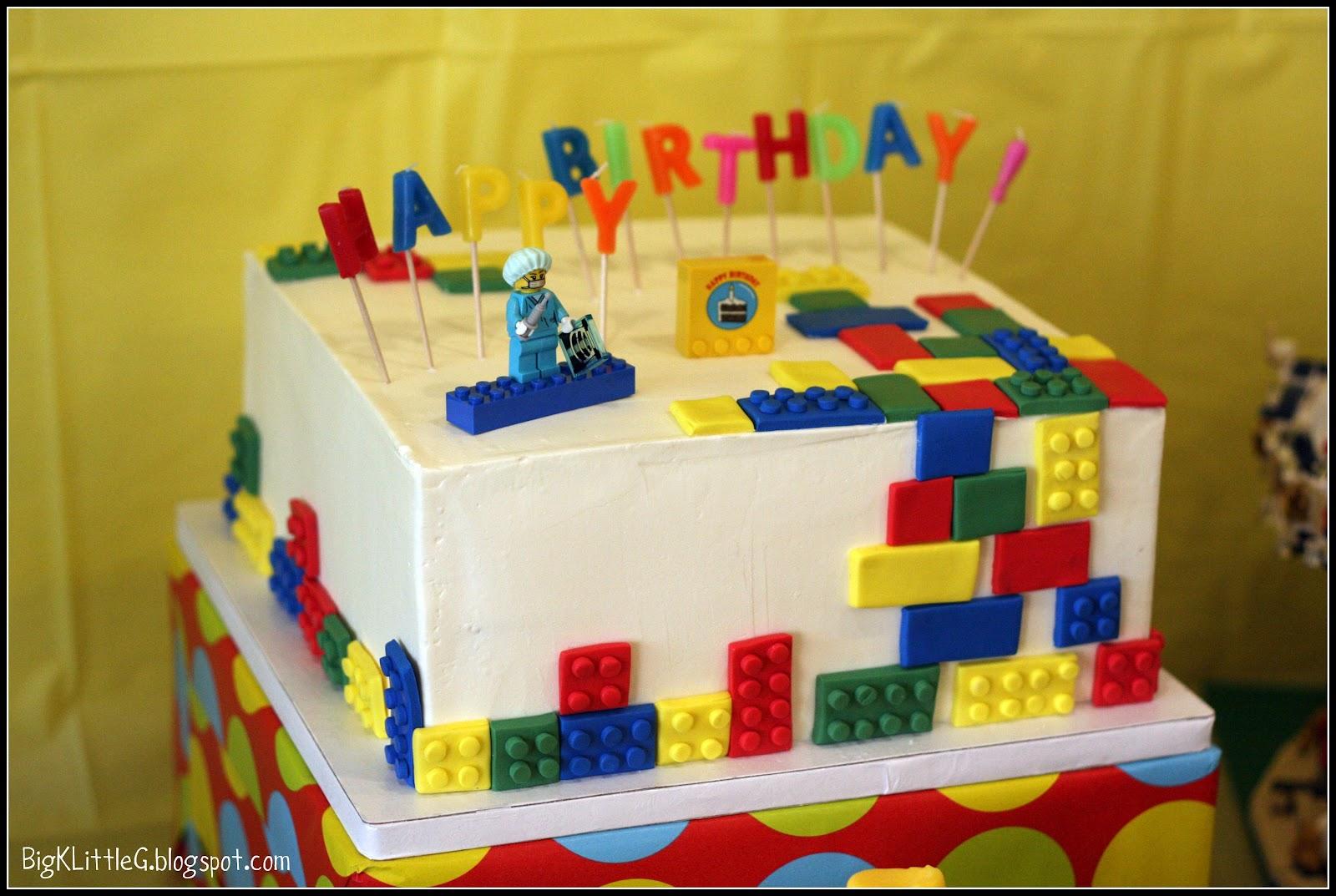 9 Easy Lego Bday Cakes Photo Easy Lego Birthday Cake Lego