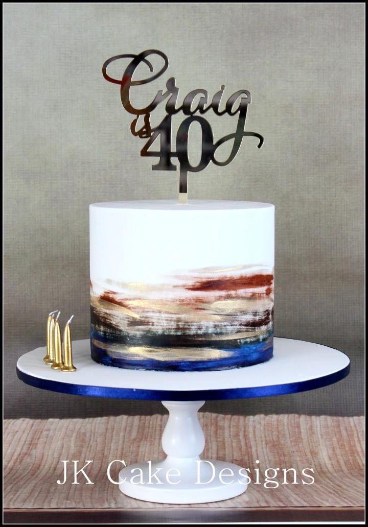 Awe Inspiring 11 Single Layer Cakes For Men 30Th Birthday Photo 30Th Birthday Funny Birthday Cards Online Elaedamsfinfo