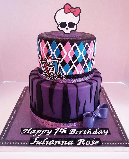 5 Monster High Cakes For 6th Birthdays Photo Monster High Happy