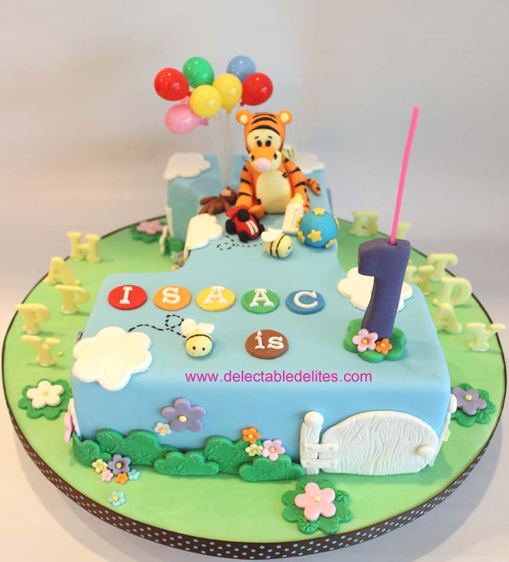 9 Cakes Shaped Into Number One Photo Number Shaped Birthday Cake