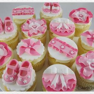 Pink Baby Shower Cupcake Ideas