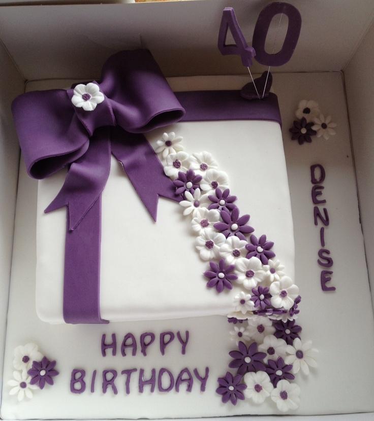 10 Jade Purple Birthday Cakes Photo Purple Birthday Cake Purple
