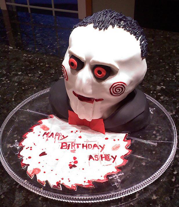 13 Creepy Birthday Cakes Photo Scary Halloween Skull Cakes Creepy