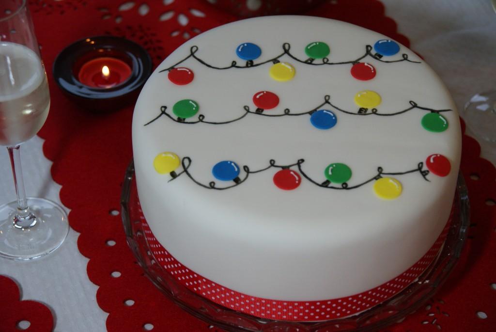 9 easy christmas cakes designs photo easy christmas cake