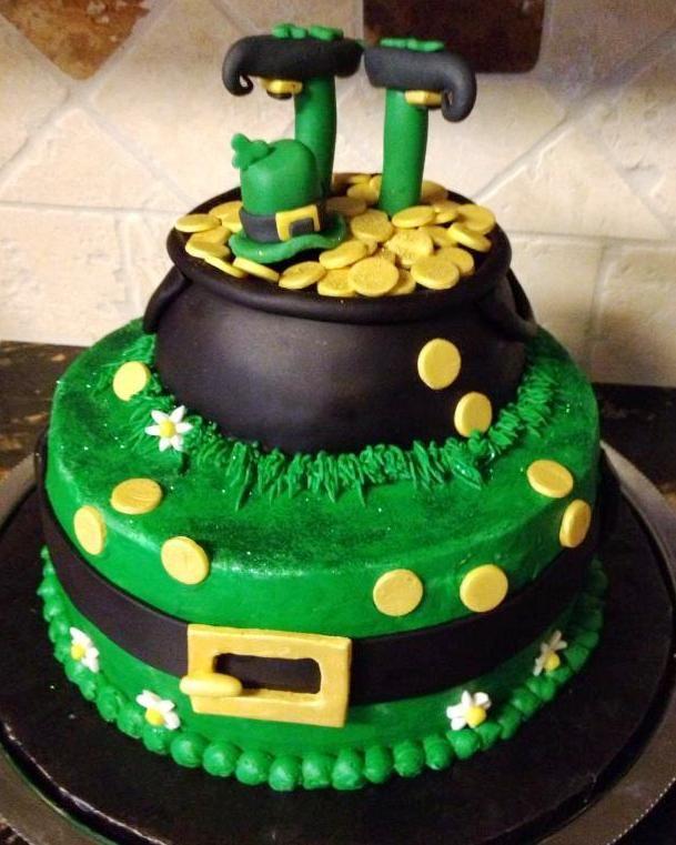 Amazing 6 Day St Patriac Vons Specialty Cakes Photo St Patricks Day Personalised Birthday Cards Cominlily Jamesorg