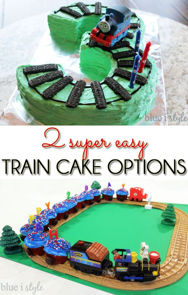 9 Number Shaped Cakes Thomas The Train Photo Thomas The Train Cake