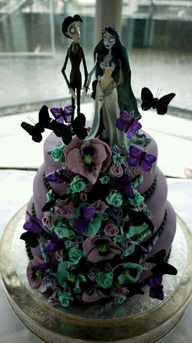 Beautiful Tim Burton Themed Wedding Contemporary Styles Ideas