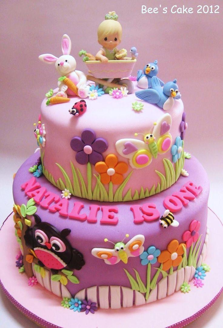 Toddler Girl Birthday Cake