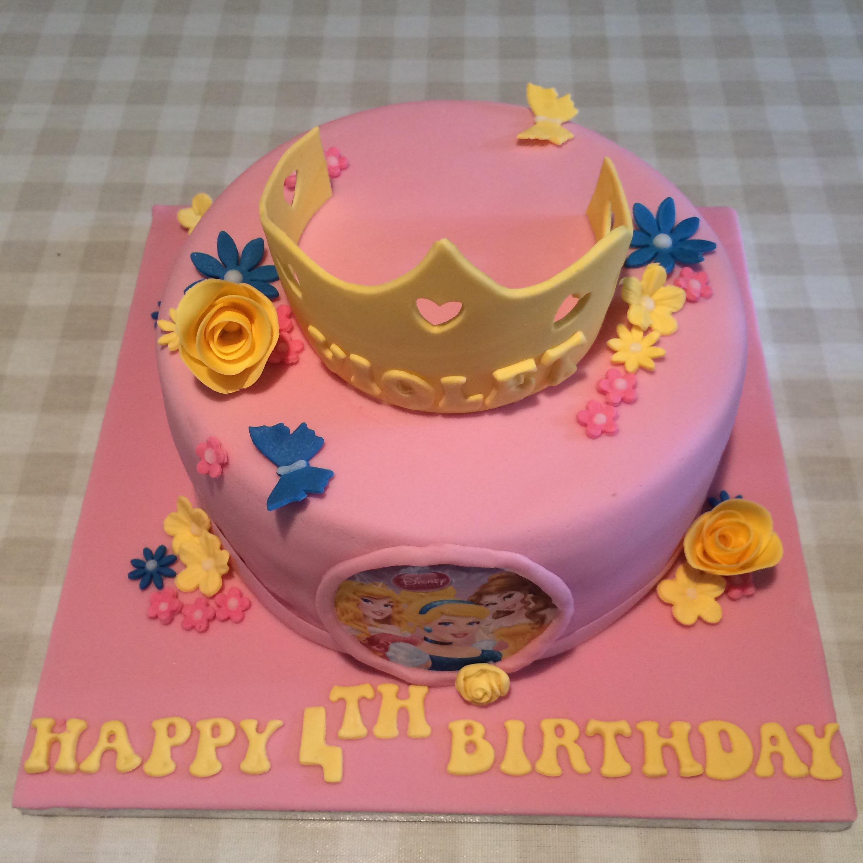 4 Year Old Girl Birthday Cake