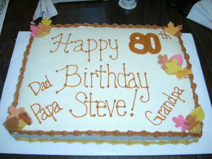Birthday Cakes Ideas For My Husband ~ Sheet cakes for men photo happy birthday cake for a man