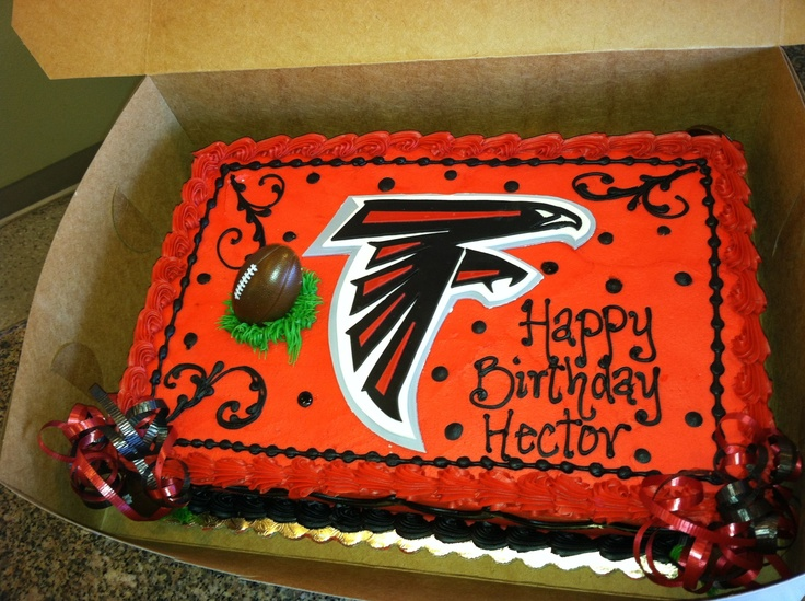 13 Happy Birthday Atlanta Falcon Cakes Photo Atlanta Falcons Cake