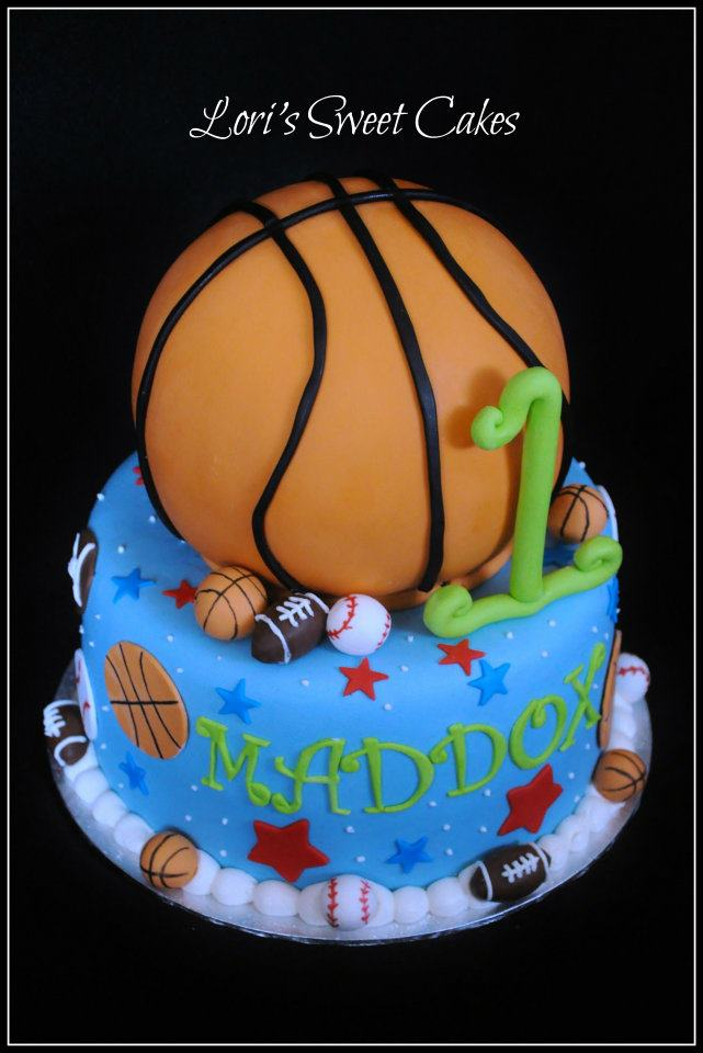 11 Cakes For Girls With Basketball Theme Photo Girls Basketball