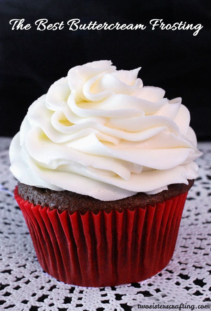 11 Butter Cream Frosting For Cupcakes Photo Almond Cupcakes with