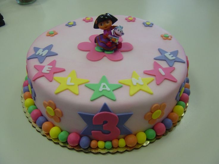 Birthday Cakes For Girls Age 8