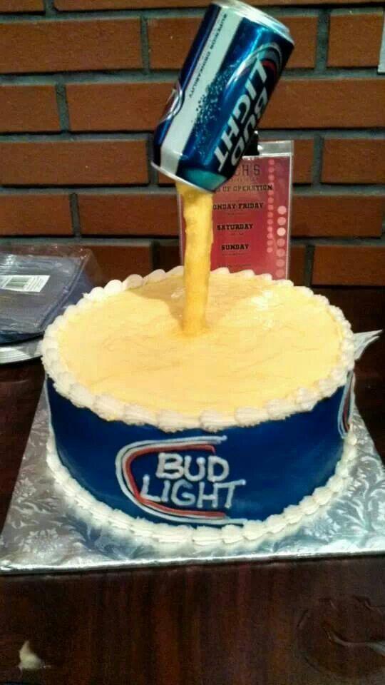 Cake Design For Men Beer