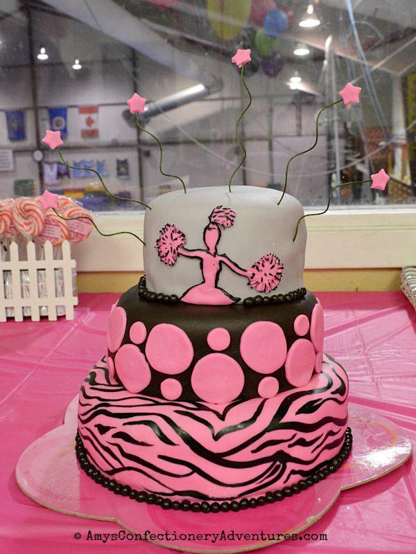 11 Cheer Cakes 3 Layer Cake Photo Cheerleading Birthday Cake Ideas