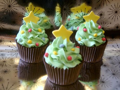 8 Surreal Creation Christmas Cupcakes Photo Christmas Tree Mini