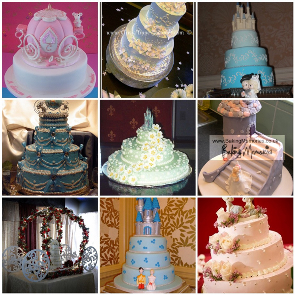 6 Disney Princess Theme Quince Cakes Photo Cinderella Themed