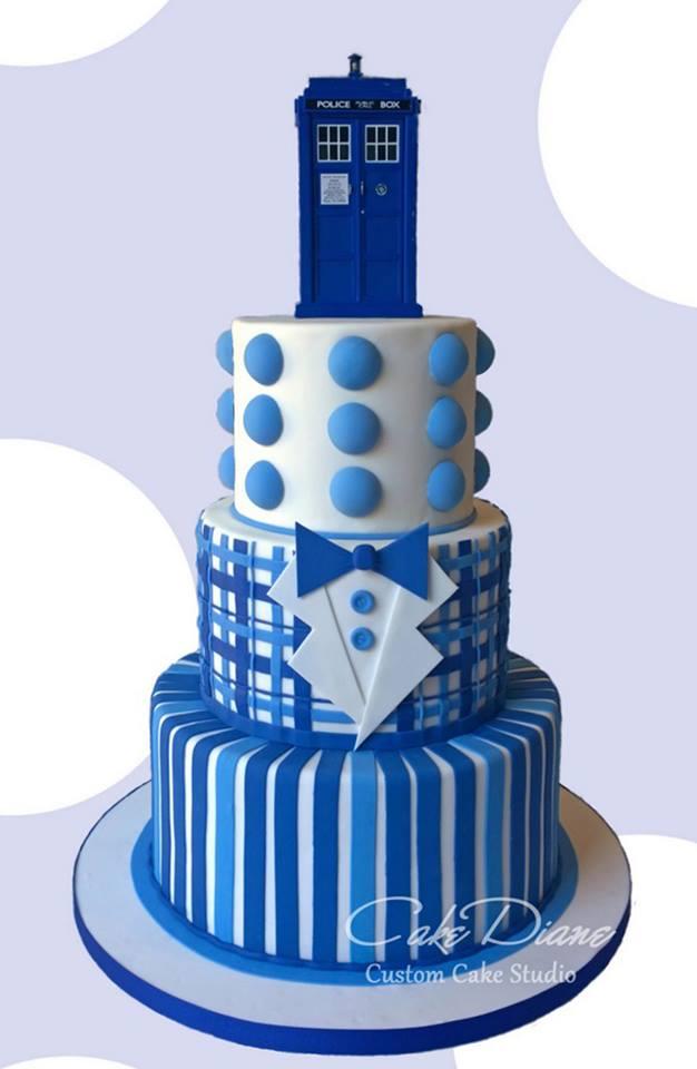 10 Amazing Doctor Who Cakes Photo Doctor Who Dalek Birthday Cake