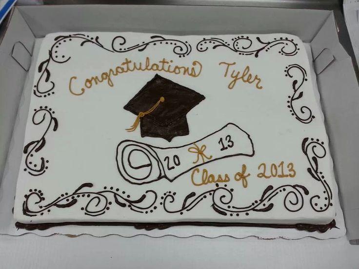 Graduation Sheet Cake Decorating Ideas Elitflat
