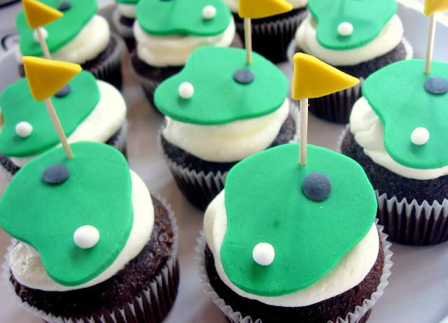 Golf Theme Cupcake