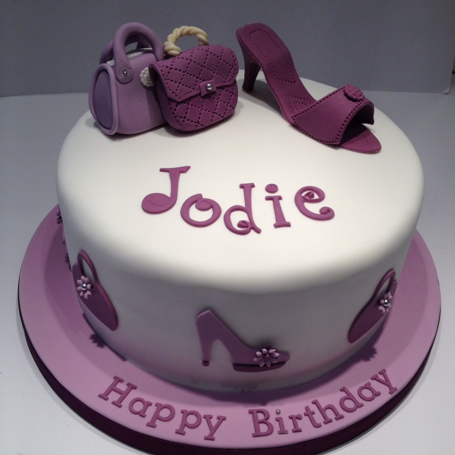 9 Birthday Cakes With Shoes And Purses Photo Shoe And Purse