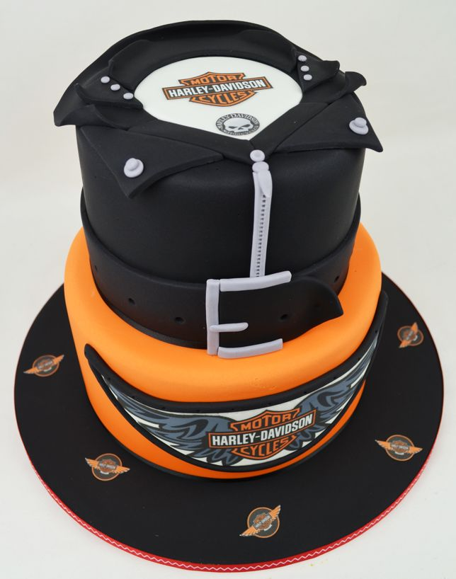 11 Harley Motorcycle Cakes For Adults Photo Harley Davidson