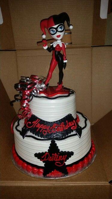 Harley Quinn Birthday Cakes Walmart