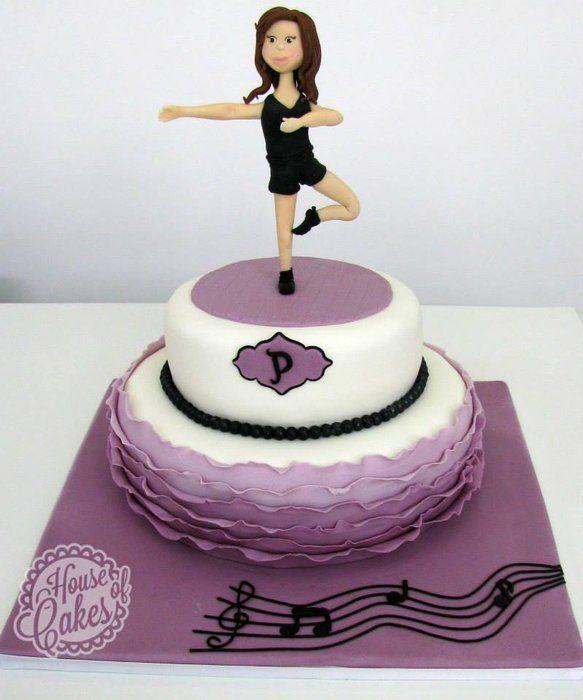 12 Girls Jazz Dance Birthday Cakes Photo Jazz Dance Birthday Cake