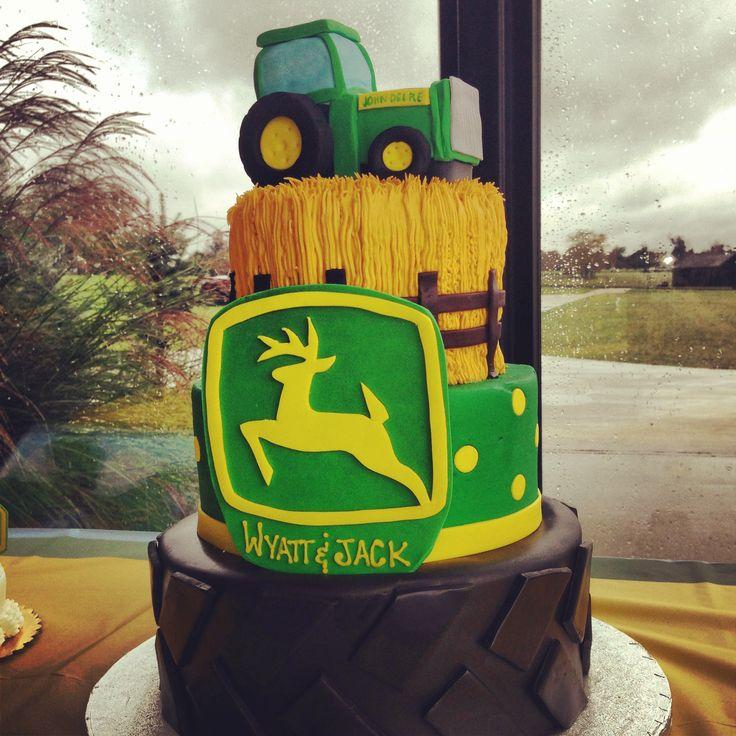 11 John Deere Birthday Cakes Photo John Deere Birthday Cake