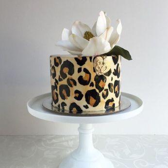12 Manly Zebra Print Cakes Photo Leopard Print Birthday Cake
