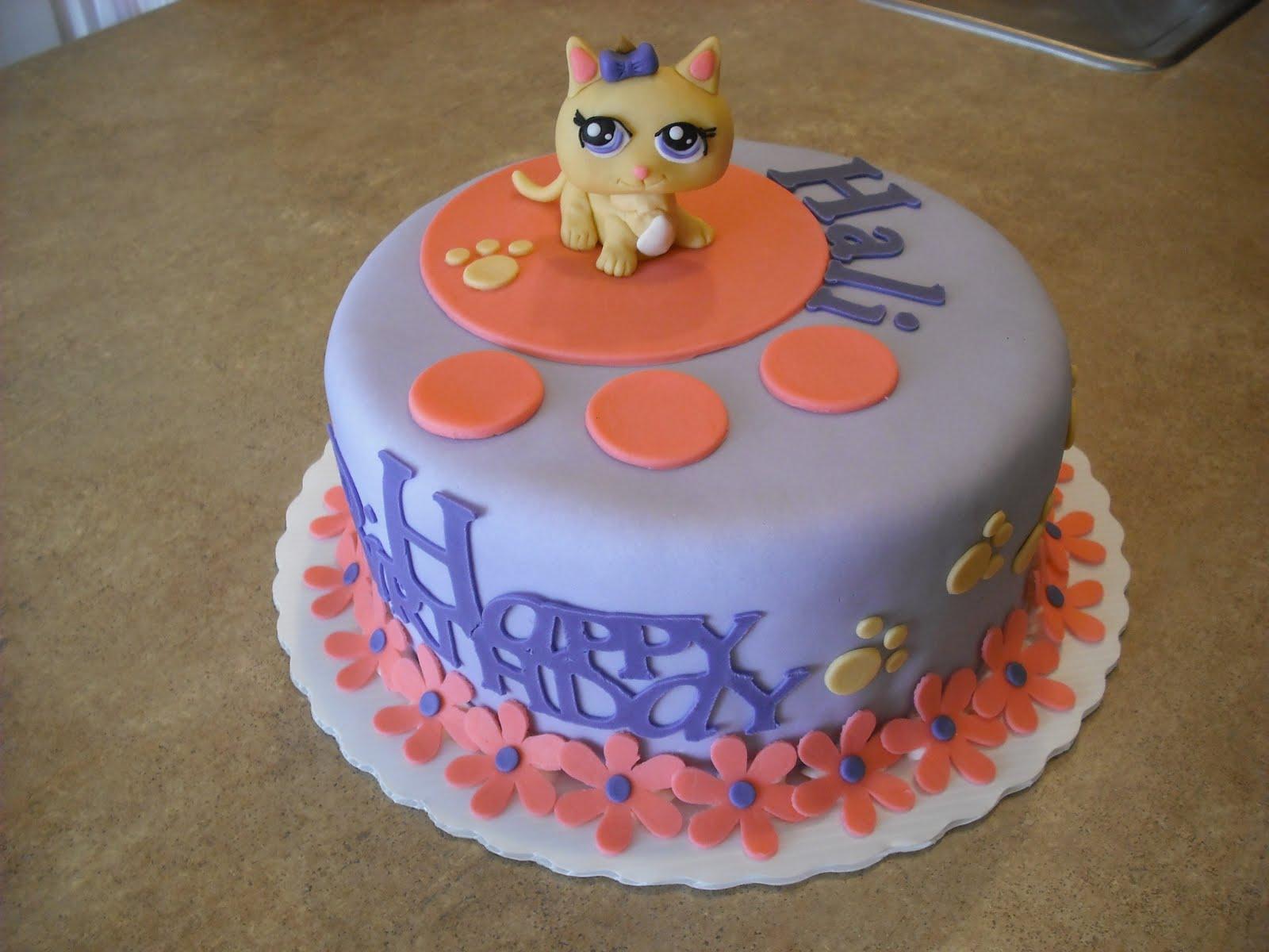 Outstanding 12 Lps Littlest Pet Shop Cakes Photo Littlest Pet Shop Birthday Funny Birthday Cards Online Alyptdamsfinfo