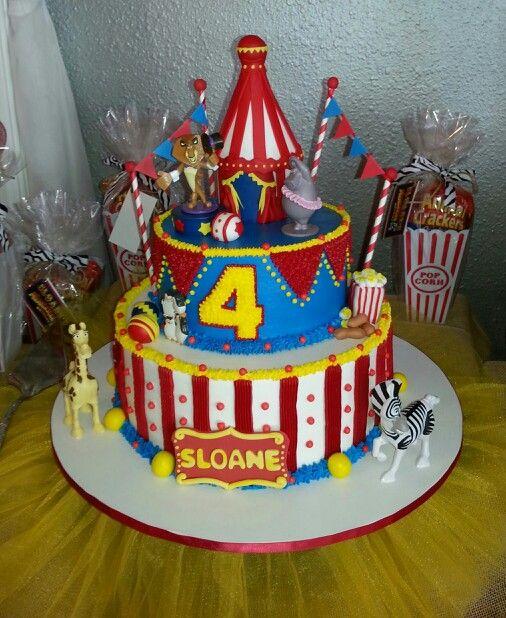 Astonishing 7 Madagascar 3 Birthday Cakes Photo Madagascar 3 Birthday Cake Funny Birthday Cards Online Alyptdamsfinfo