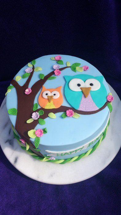 Swell 11 Owl Cakes For Birthday Cakes Photo Owl Baby Shower Cake Owl Personalised Birthday Cards Akebfashionlily Jamesorg