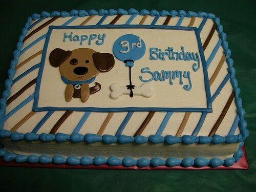 Birthday Cakes With Dog Designs ~ Dog design cake recipes kudoki for